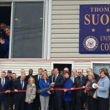 Ribbon Cutting at the Grand Opening of Congressman Suozzi's Queens District Office