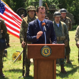 Congressman Suozzi Announces Mental Health Counseling Bill at Museum of American Armor
