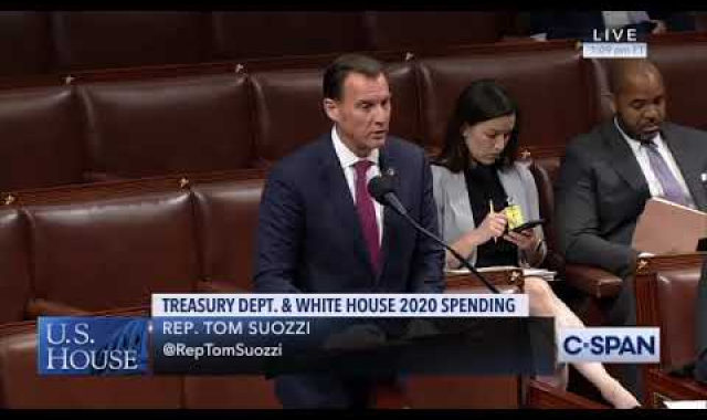 Rep. Suozzi on his Amendment to increase funding for Veterans Business Outreach Centers