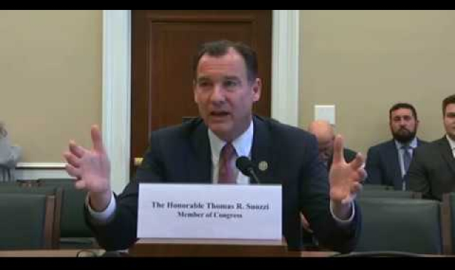 Rep. Tom Suozzi at House Committee on Appropriations Subcommittee on Labor, Health, Human Services