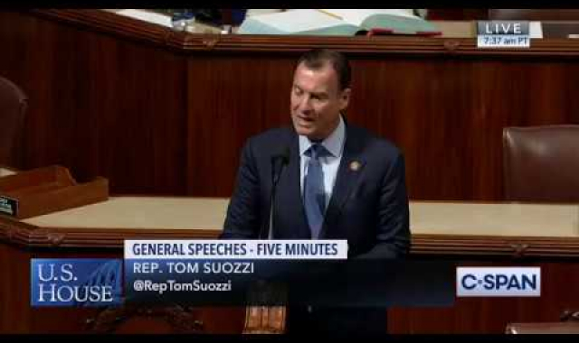 Rep. Tom Suozzi Speaks on House Floor re: Immigration, 9/11/19