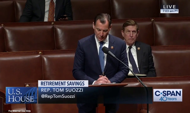 Rep. Suozzi Speaks on the Secure Act, 5/23/19