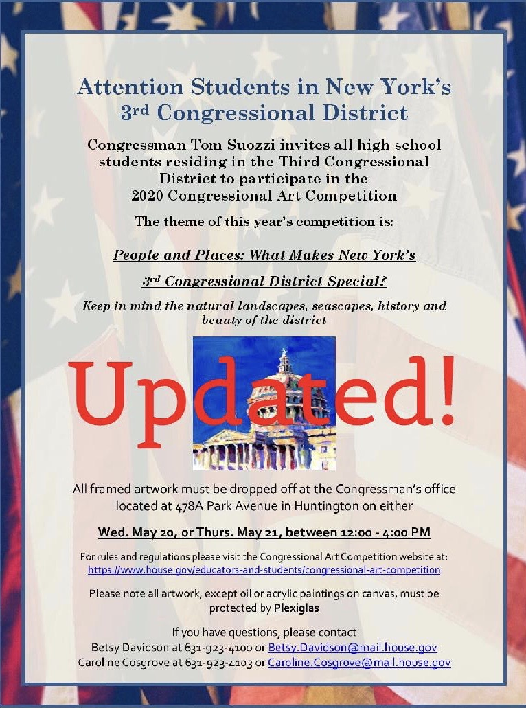 2020 Congressional Art Competition updated