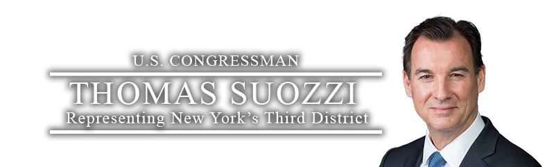 Congressman Thomas Suozzi
